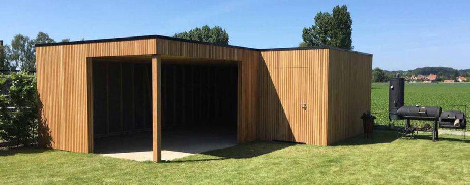 Afzelia terrasoverkapping © Woodproject